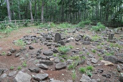 西崎山環状列石 2014-08-12 010