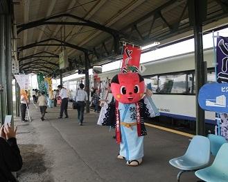余市駅 ソーラン武士 ヌプリ・ワッカ 2014年8月19日 154