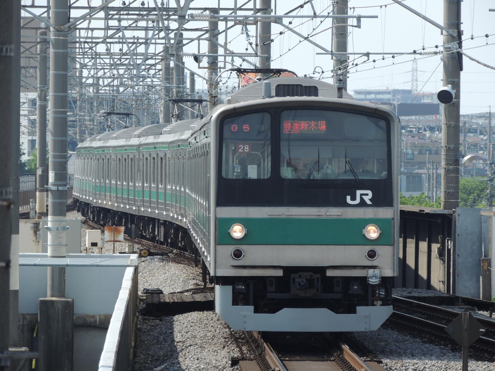 205系ハエ28編成 戸田公園 (3)