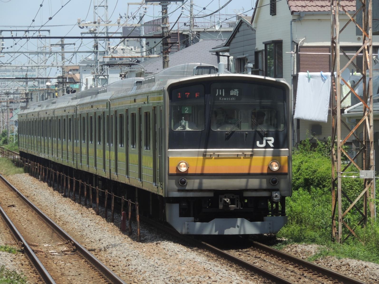 205系ナハ2編成鹿島田