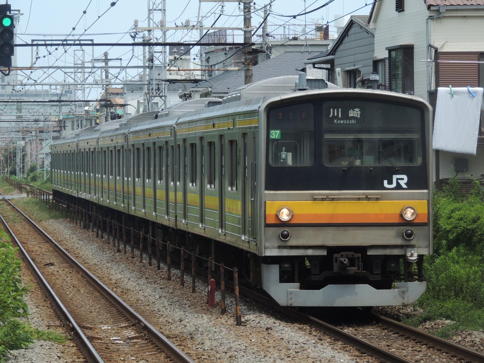 205系ナハ37編成 鹿島田 (2)