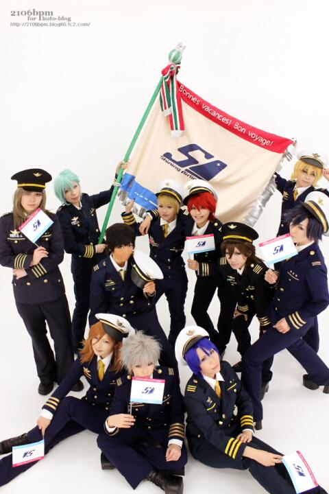 ☆うたの☆プリンスさまっ♪ Shining Airlines あわせ@モケモケスタジオ☆