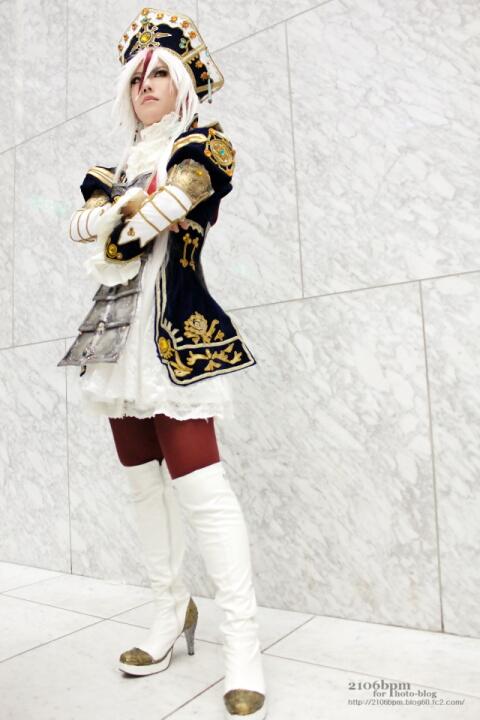 ☆beko/柊彩/桔梗(トリニティ・ブラッド あわせ)@コスプレ博 in TFT[2014.03.29] パート2☆