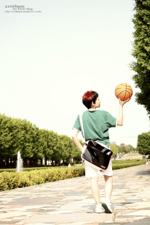 ☆花火(火神大我 幼少期/黒子のバスケ)@昭和記念公園☆