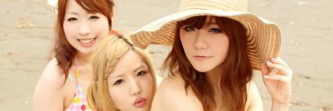 ☆藤花コリン/蓮/たら@江ノ島 パート2 + 海の家 キャラクレ! meets ポムポムプリン☆