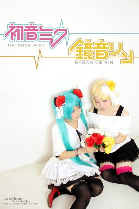 ☆うさぎ/つばさ(初音ミク・鏡音リン WIM あわせ)@Planear・笹塚スタジオ☆
