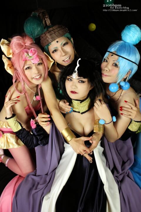☆美少女戦士セーラームーンSuperS アマゾネス・カルテット あわせ@Avian Studio☆