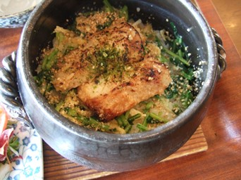 3/28 かれいの麹味噌漬け土鍋ご飯