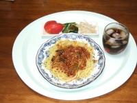 6/29 昼食 汁なし担担麺