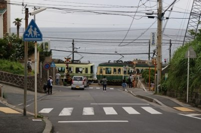 6/28 鎌倉高校から海に向かう坂~日坂