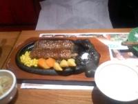 3/29 昼食 炭焼きがんこハンバーグ  ブロンコビリー