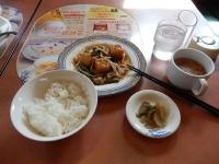 5/31 昼食 揚げ豆腐と豚肉の旨煮定食   バーミヤン