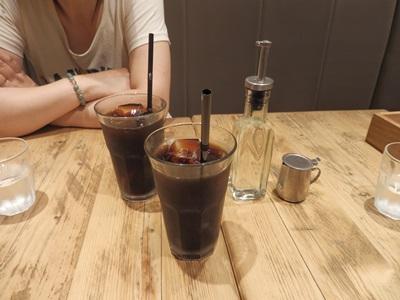 5/31 アイスコーヒー j.s.pancake