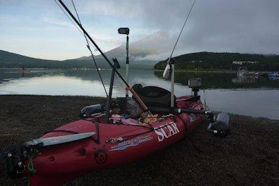 山中湖出艇