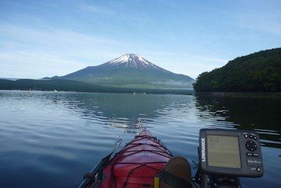 カヤックから富士山