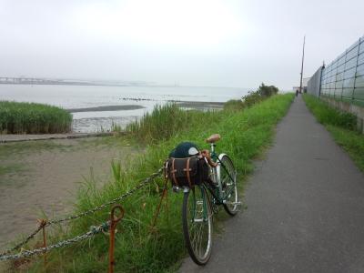 多摩川 右岸河口