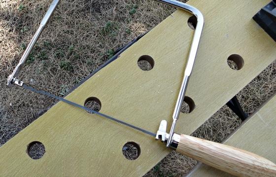糸鋸を使う