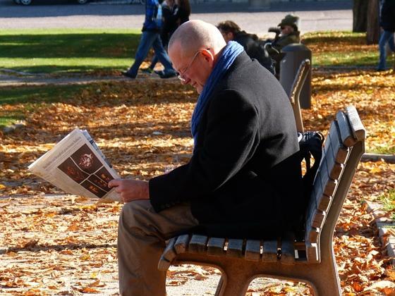 新聞を読む1