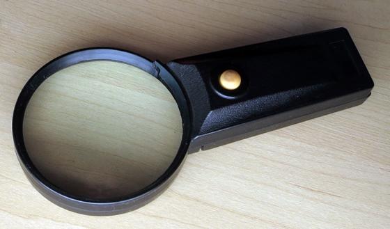 昔の虫眼鏡