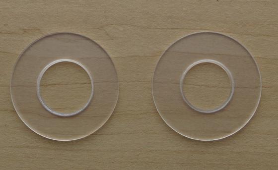 ドーナッツ円盤2つ