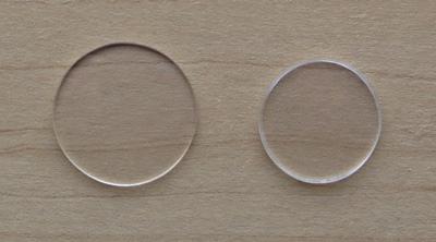 円盤小2つ