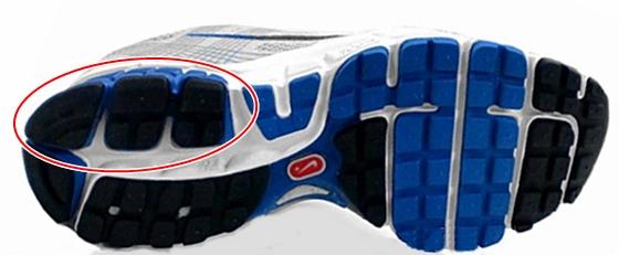 nike-zoom 靴底