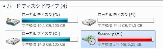 HDDの状態3