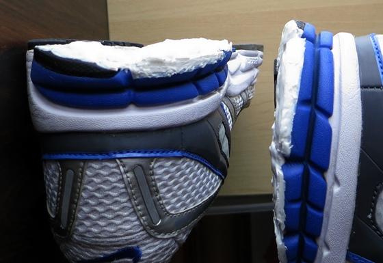 靴底補修重ね盛り