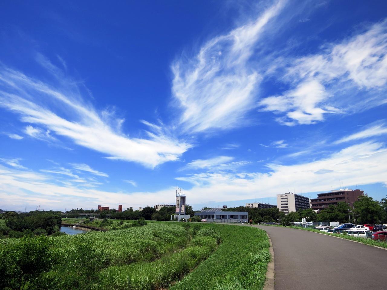 台風一過の空3