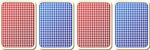 4組のカード