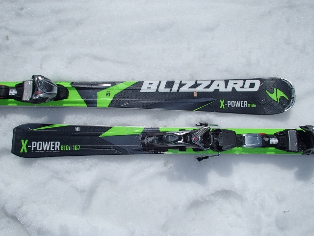 BLIZZARD X-POWER 810 TI 167 (640x480)