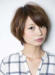 ツヤとふわり感の王道癒し系シンプルショート 2014年夏 旬の髪型