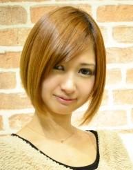 丸みのあるヘアスタイルが2014年春のトレンド☆