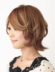 2014年夏に人気の外ハネショートなヘアスタイル