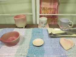 陶芸班作品春のグッズ