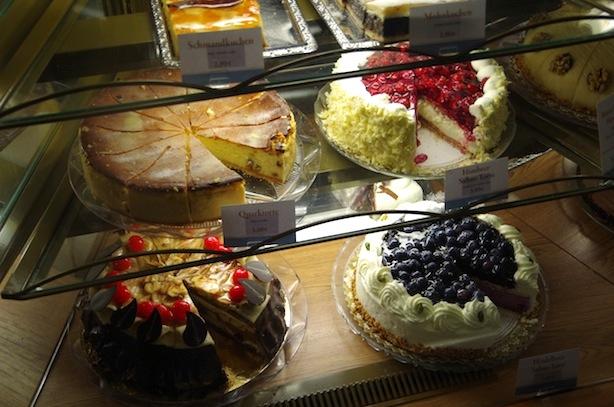 ドレスデンのケーキ