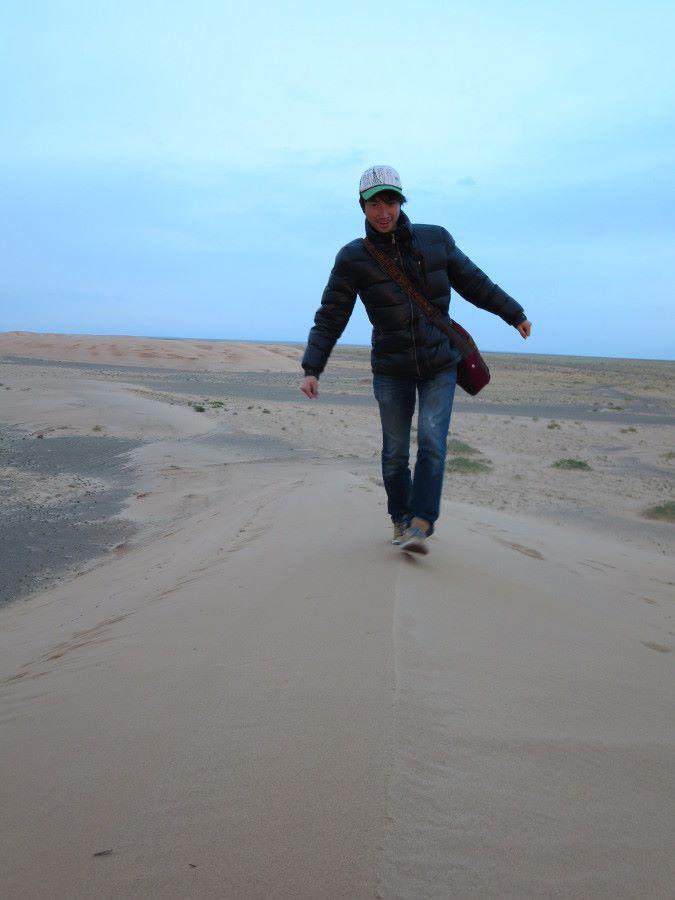 ゴビ砂漠の砂丘