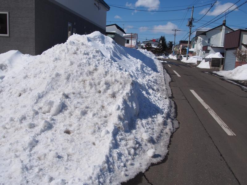 凄まじい雪