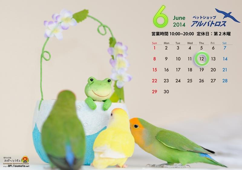 2014-06カレンダー