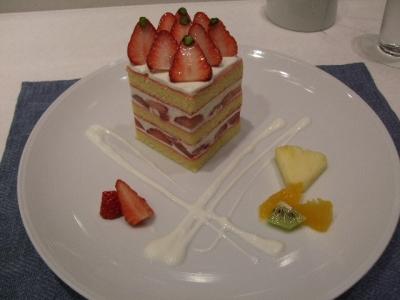 高杉ショートケーキ