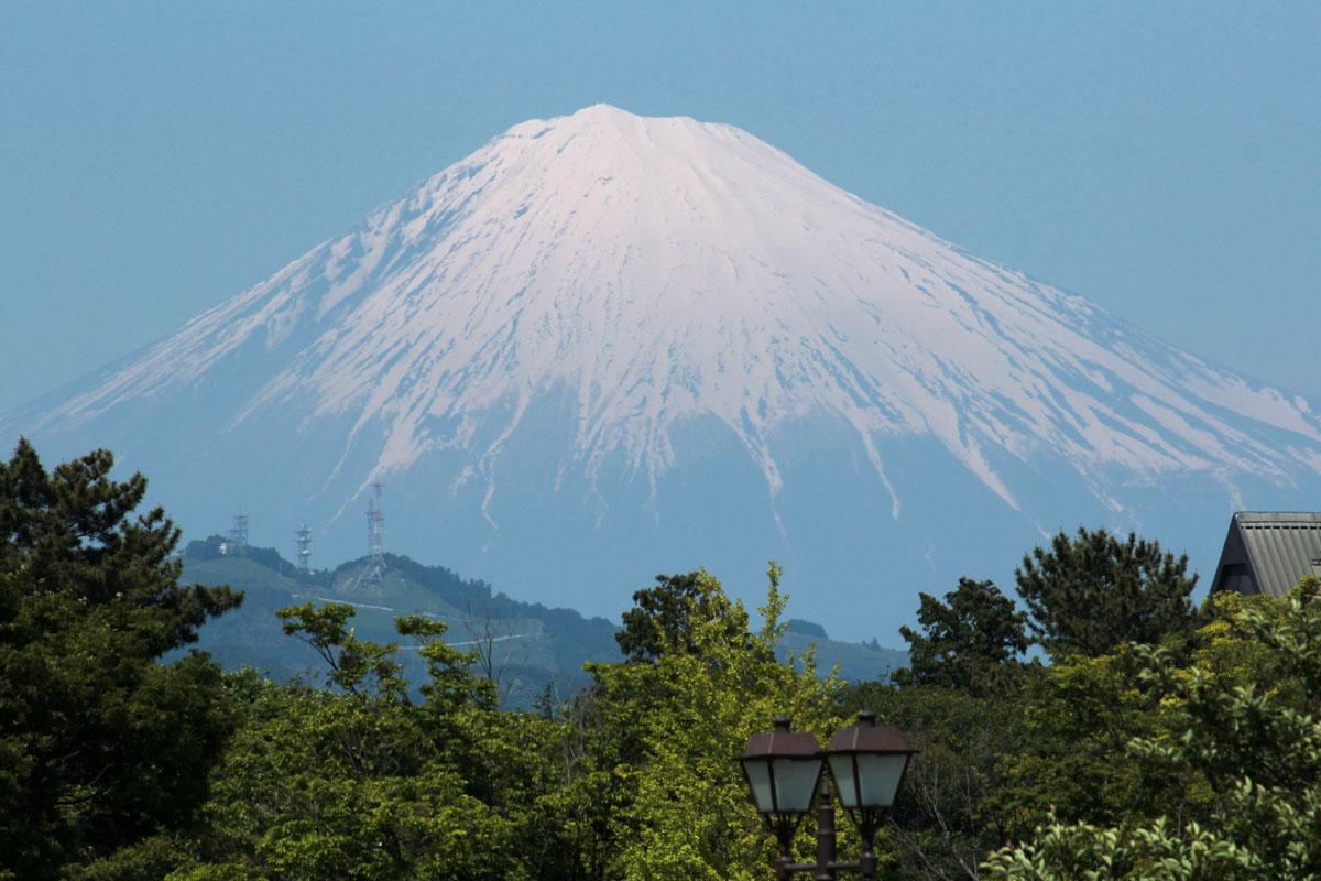 富士山 富士見芝生広場から 140511