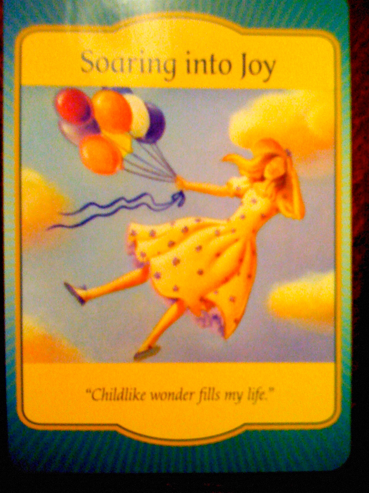 Soaring into joy