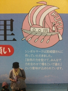 宮崎駿さんが描いたしるし