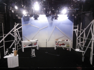 舞台セット シンプル