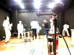 スタジオ稽古2 ペルソナトレイン