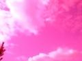 空ピンクの