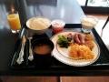 東京のホテルの朝食