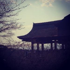 清水寺 へ