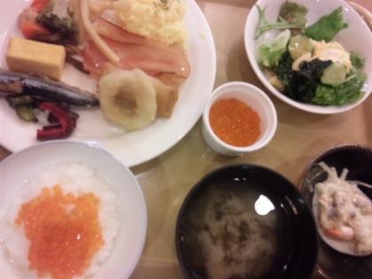 ホテルの朝食20140514_convert_20140518132146