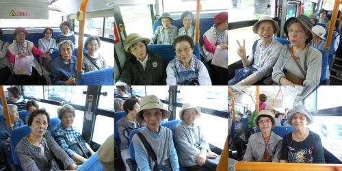 基幹バスで徳川園で!